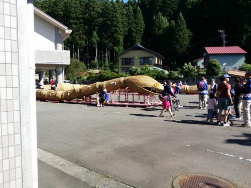 【新潟県関川村】大したもん蛇まつりの駐車場と撮影ポイントを解説するよ!【2019年版】